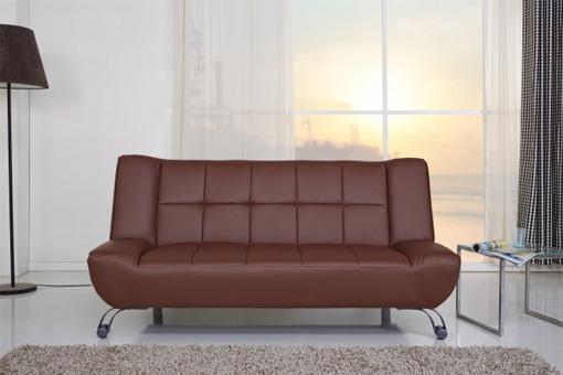 Sofá cama 2 plazas clic-clac de estilo vintage