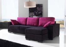 Sofá cama chaise longue con apertura italiana