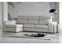 Sofá cama chaise longue moderno