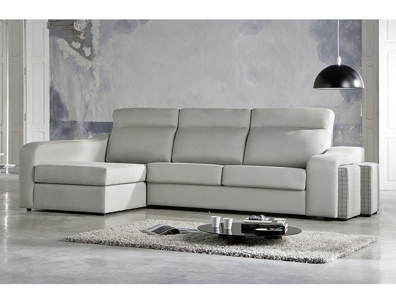 Sofas chaise longue modernos simple sof con chaise longue - Sofa cama modernos ...