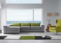 Sofá cama cheslongue elegante