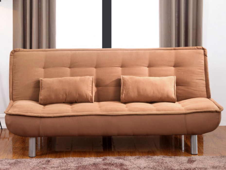 Sofá cama clic-clac caramelo