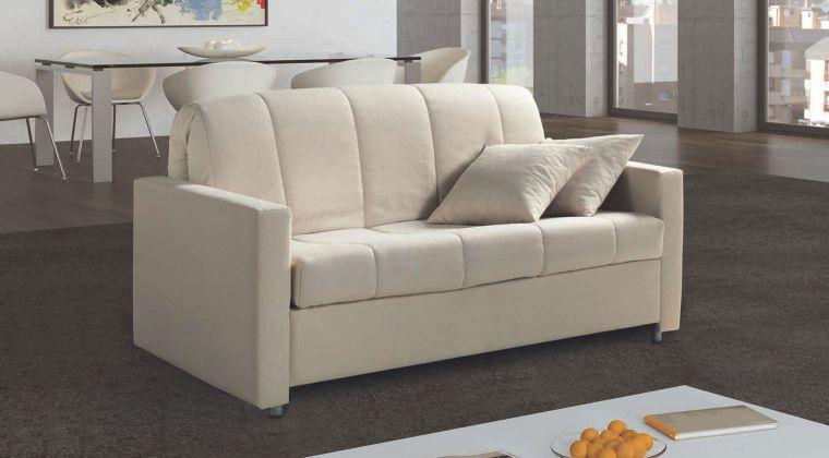 Sofá cama con somier de láminas