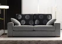 Sofá cama de 3 plazas apertura francesa