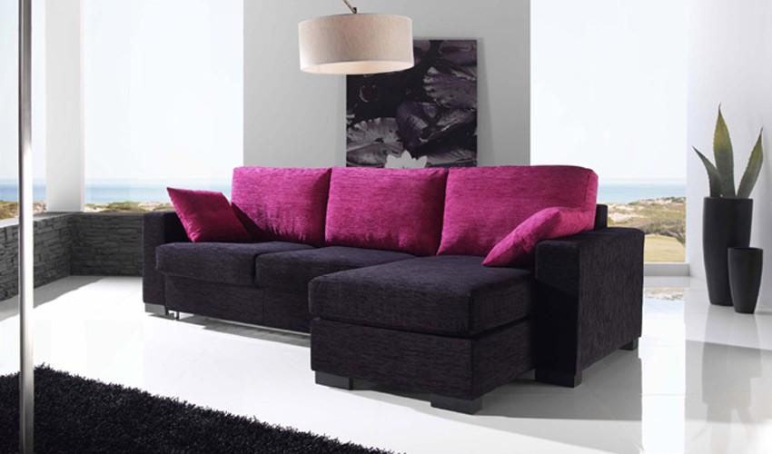 Sof cama de 3 plazas con chaiselongue im genes y fotos - Sofa cama 3 plazas ...