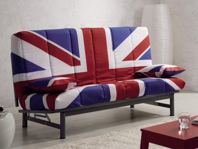 Sofá cama diseño británico
