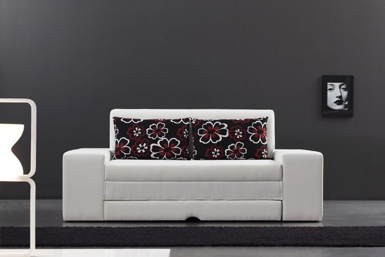 Sofá cama individual elegante