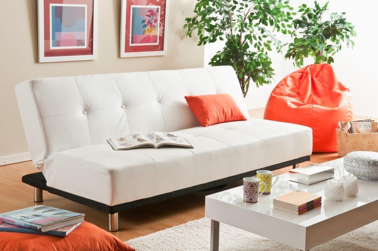 Sof s cama peque os - Sofa cama minimalista ...