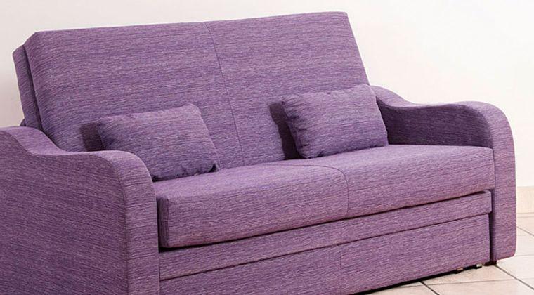 Sofá cama nido violeta