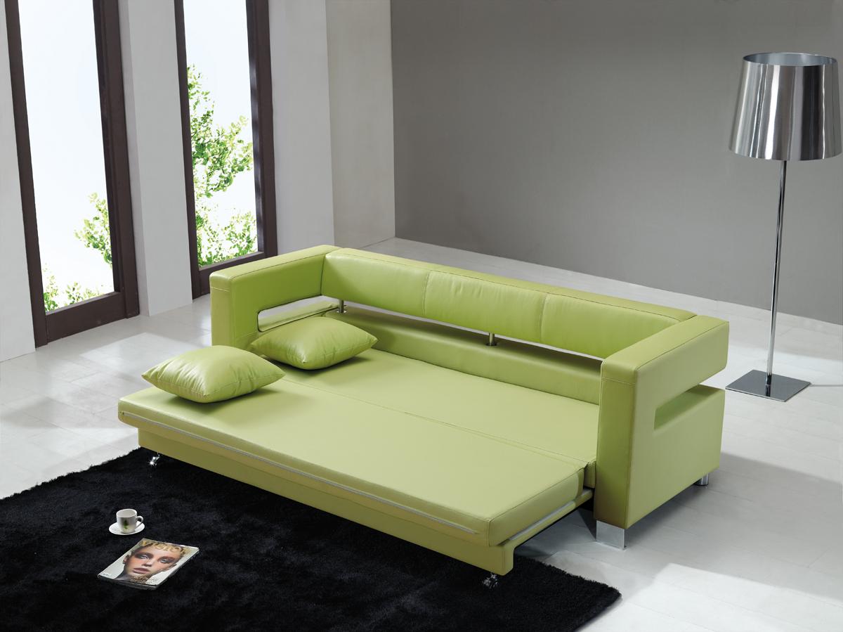 Sof s cama peque os for Sofa cama diseno moderno